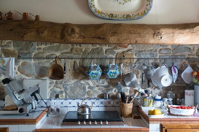 la cucina di casa
